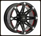 "22"" BALLISTIC JESTER 6X5.5 W/ 305/45/22 NITTO TERRA GRAPPLER AT TIRES WHEELS RIM"