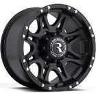 18x9 Black Raceline Raptor 981 6x135 +25 Rims Open Country AT II 275/65/18