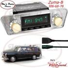 RetroSound  56-73 VW Type 3 Hermosa-B Radio/RDS/USB/Mp3/3.5mm AUX-In for ipod