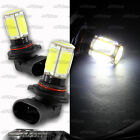 1x Pair 9006 HB4 COB Chips On Board LED White For Bulbs Mercedes Pontiac Nissan