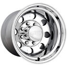 15x8 Polished American Eagle 58  6x5.5 -30 Wheels Open Country AT II P265/75R15
