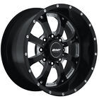 20x9 Black BMF Novakane 8x170 +0 Rims Nitto Dune Grappler LT285/55R20 Tires