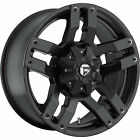 20x9 Black Fuel Pump 6x135 & 6x5.5 +1 Rims W/ Nitto NT555 285/30ZR20 Tires New