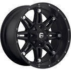 18x9 Black Fuel Hostage 6x135 & 6x5.5 +20 Wheels Nitto NT555 285/40/18 Tires