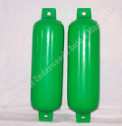 Bright Green Boat Fenders 5.5'' x 19'' Polyform G3 set of 2 Bumpers Premium USA
