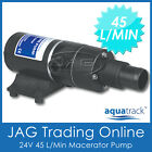 24V AQUATRACK MACERATOR WATER PUMP-Waste/Toilet /Sewerage/Marine/Boat/Caravan/RV