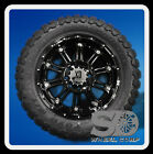 "20"" WHEELS RIMS XD795 HOSS GLOSS BLACK WITH 33X12.50X20 TOYO OPEN COUNTRY MT"