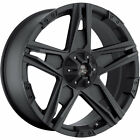 17x8.5 Black American Outlaw Hollywood 6x5.5 +15 Rims Couragia MT 285/70/17