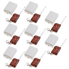 8sets 12V 2 Channel Wireless RF Remote Control Switch Relay