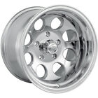 17x9 Polished Alloy Ion Style 171  5x5.5 +0 Wheels Trail Grappler 265/70/17