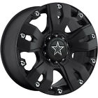 20x9 Black Dropstars 642B  8x6.5 +0 Rims Nitto Mud Grappler 37X13.5X20 Tires