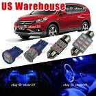 10x Pure  Blue LED Lights Interior Package inside Map Kit For 13-15 Honda CRV