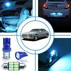 16x Aqua Ice Blue LED Interior Dome Light Package Kit For Chevy Impala 2000-2005