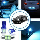14x Aqua Ice Blue LED Interior Light Package Kit For Cadillac Escalade 2007~2014