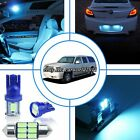 14x Aqua Ice Blue LED Interior Light Package Kit For Cadillac Escalade 2002-2006