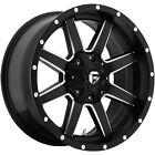17x9 Black Maverick D538 8x6.5 -12 Rims Terra Grappler G2 305/70/17 Tires
