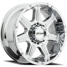 20x9 Chrome Pro Comp Series 51 8x170 +0 Wheels Trail Grappler 37 Tires