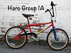 Old School Early 1990's Haro Group 1 series A racing BMX Bike, NOS Original