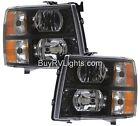 TIFFIN ALLEGRO 2013-2015 BLACK PAIR LEFT RIGHT HEADLIGHTS HEAD FRONT LAMPS RV