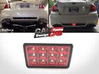 Red Lens F1 Style LED Rear Fog Light Brake/Tail Fits Subaru Impreza WRX STi XV