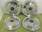 """1966 PLYMOUTH HUBCAPS 14"""" WHEEL COVERS"""