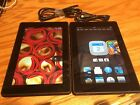 "Lots 2 Amazon Kindle Fire HD 3rd Generation - 8GB - WiFi - 7""  - Good Condition"