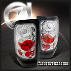 94-01 Dodge Ram Truck Pickup Chrome Clear Tinted Altezza Tail Lights