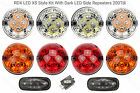 RDX LED XS Style 8 Lamp/lights & Side Repeaters Defender 1987 to 1994 200 Tdi D