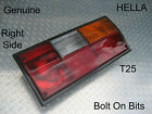 VW Transporter T25 RIGHT Rear Lamp/light Lens Van/Camper/Caravelle/Pickup HELLA