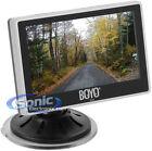 "BOYO Vision VTM4000 4"" Digital Rear View Reverse Monitor w/ Dual-Mount Option"