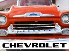 58-59 Chevy Truck Pickup CHEVROLET Grill Decal Letters 1958 & 1959