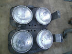 1965 Ford Galaxy 500 Head Light Assemblies Pair Vintage
