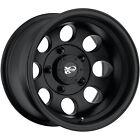 17x9 Black Pro Comp Series 69 69 5x5 -6 Rims Open Country MT 265/70/17 Tires