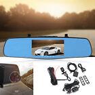 "5"" 8G Quad-Core WiFi Auto GPS Car DVR + Rear View Mirror GPS Antenna 1080p HD"