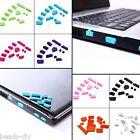 13pcs/set BD Laptop Notebook Anti-dust Plugs Ports Cover Stopper Earphone Dust