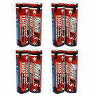 8 pcs 18650 2600mAh 3.7V Li-ion Rechargeable Battery with Tab HyperPS US Stock