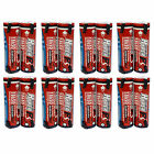16 pcs 18650 2600mAh 3.7V Li-ion Rechargeable Battery with Tab HyperPS US Stock