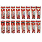 16 pcs 18650 2600mAh 3.7V Li-ion Rechargeable Battery Flat Top HyperPS US Stock