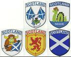 Set of 5 Scotland Scottish Flag Internal Car Window Sticker Decals