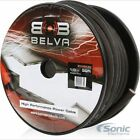 NEW! Belva BW0BK50 Belva 50 Ft Black Power / Ground Wire (CCA)