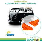 Caravan High Visibility  WHEEL CHOCKS One Size Fits All RV Camper Van Trailer