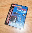 "Genuine Coleman Nightsight 2"" (inch) Grey Twin Tube Area Light Key Chain *READ*"