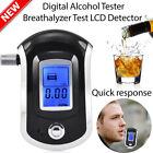 Advanced Police Digital Breath Alcohol Tester Breathalyzer Analyzer Detector