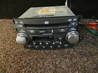 (R831) 04 05 06 ACURA TL RADIO 6 DISC CD CASSETTE PLAYER 39100-SEP-A010