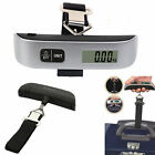 Portable Digital LCD Electronic Luggage Hanging Weight Scale 50kg/10g Capacity