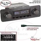 RetroSound LAGUNA-B Radio/3.5mm AUX-In for ipod/Push Button-402-40-BMW