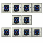 10X No touch Exit Switch/Exit Button Sensor Access control DC12V+ LED Indicator