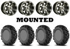 Kit 4 EFX MotoMTC Tires 26x9-12/26x11-12 on Sedona Viper Machined 12mm TER