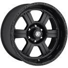 16x8 Black Pro Comp Series 89 89 5x5 +0 Rims Terra Grappler 285/75/16 Tires