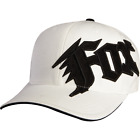 Fox Racing Youth Next Generation Flexfit Hat White Fitted Cap MX Moto 58403